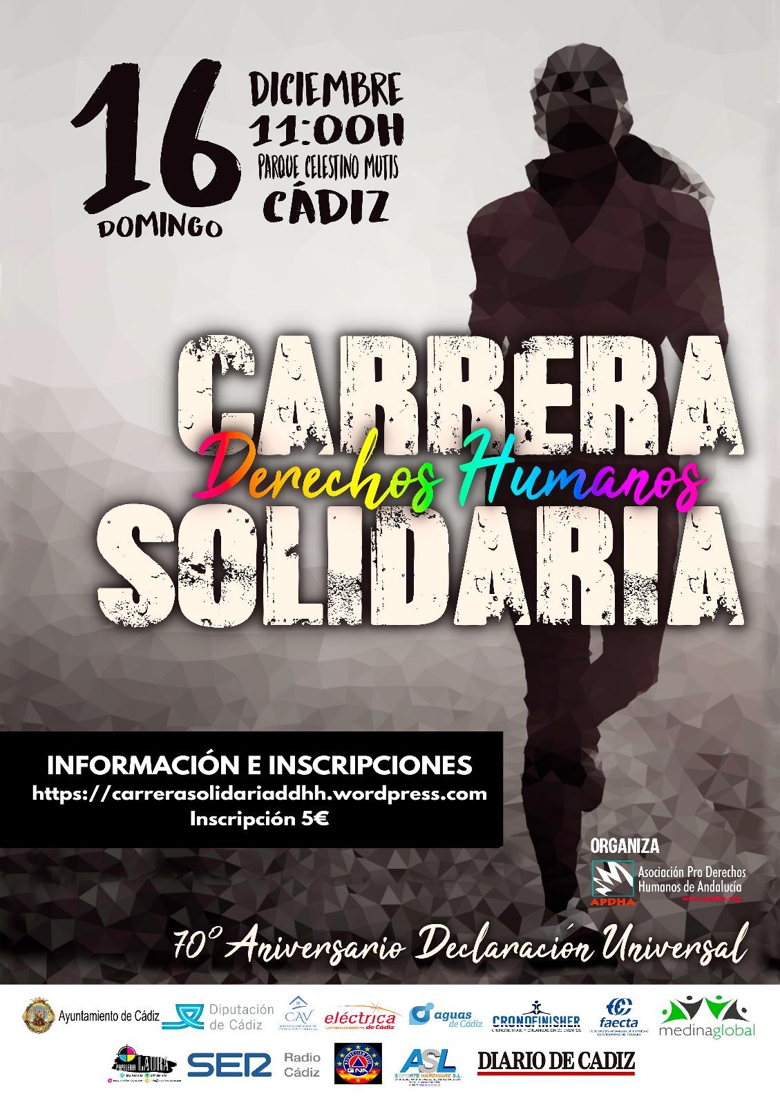 Información e Inscripción Carrera Solidaria por los Derechos Humanos