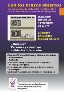Encuentro refugiados Puerto Real