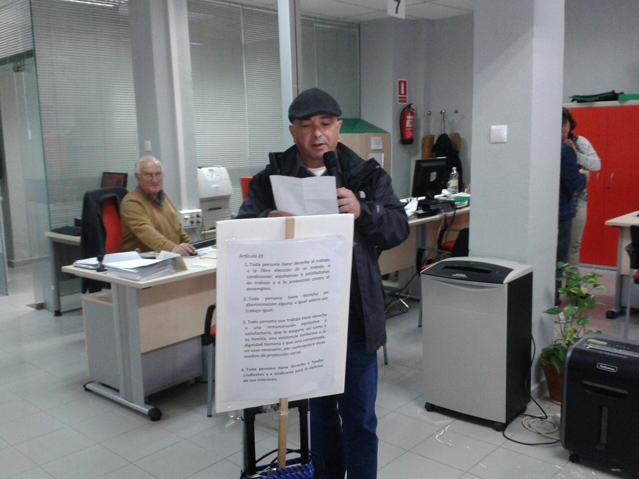 En el sae de puerto real por el derecho al trabajo digno asociaci n pro derechos humanos de - Trabajo en el puerto ...