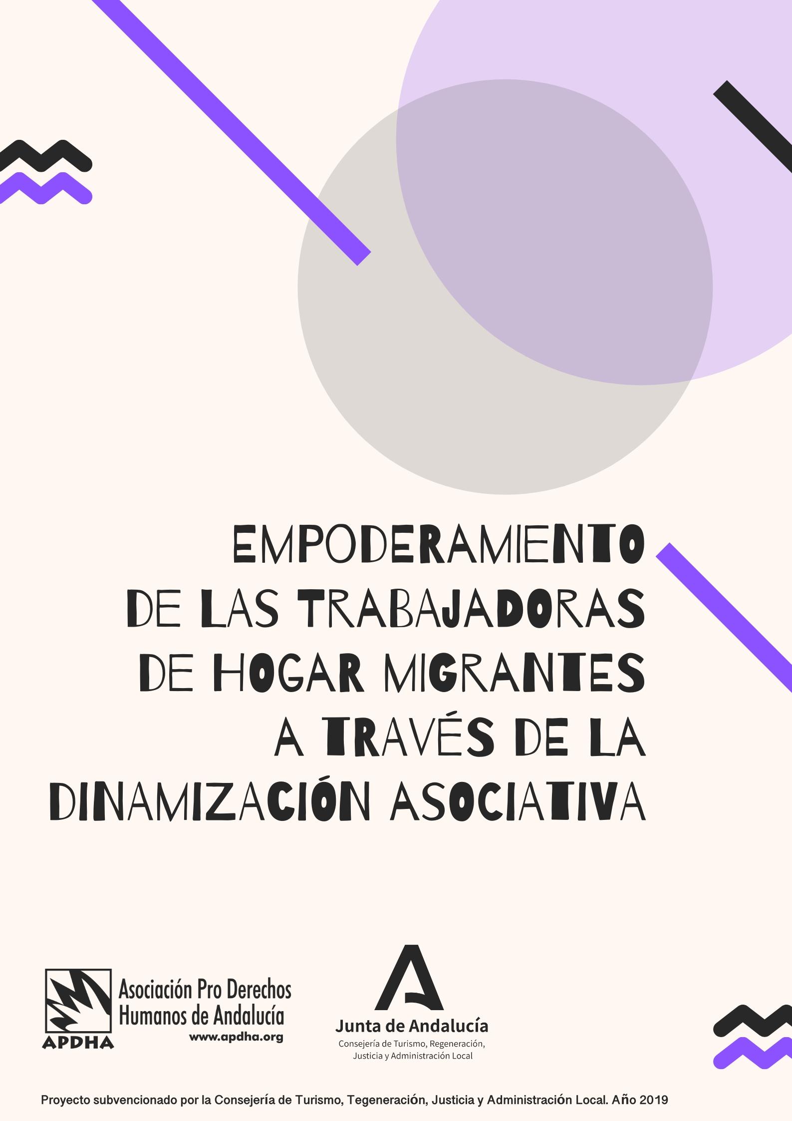 Empoderamiento de las Trabajadoras de Hogar Migrantes a través de la Dinamización Asociativa