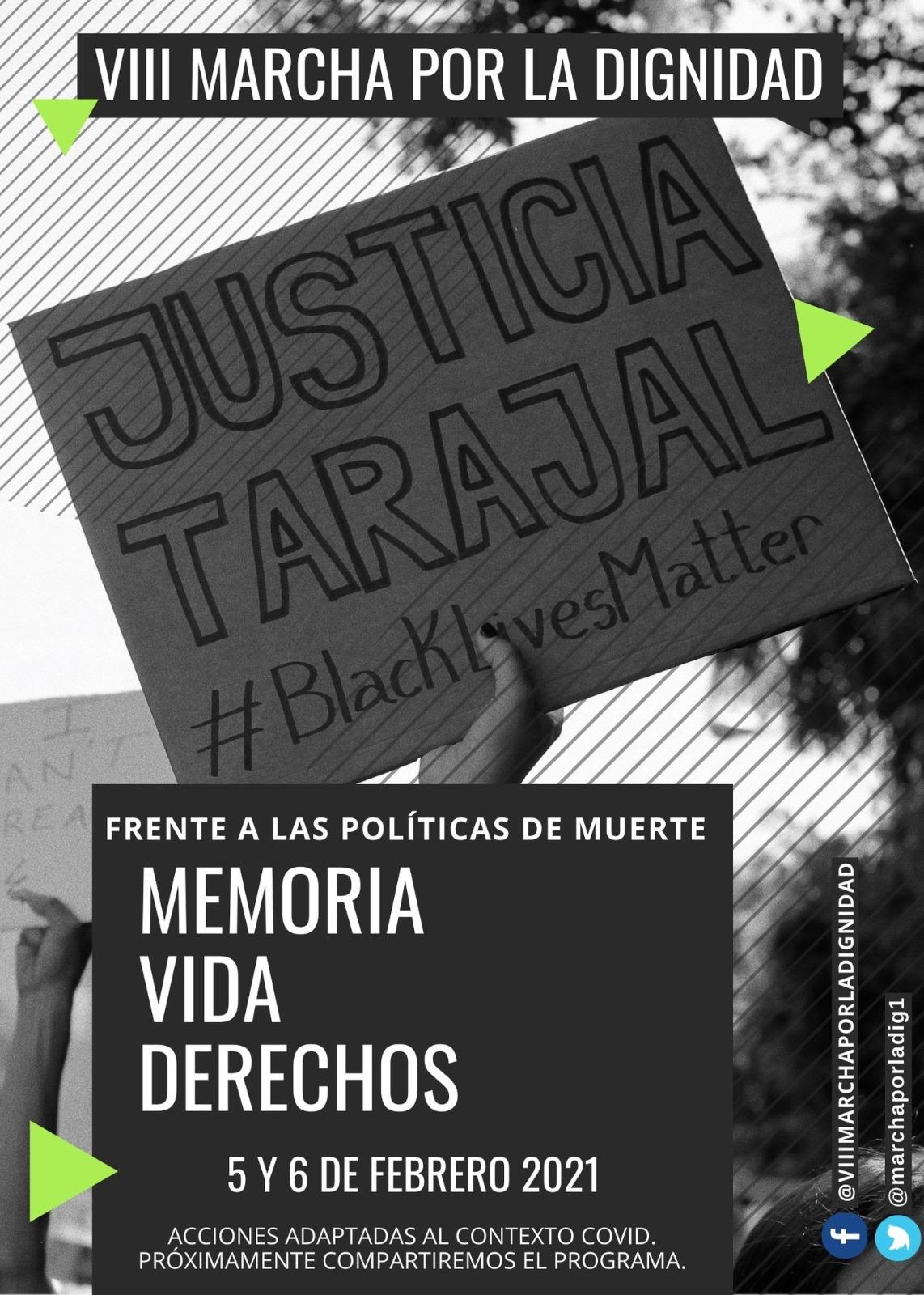 VIII Marcha por la Dignidad-Tarajal/Ceuta