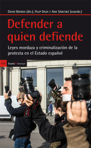 """Libro publicado por """"Defender a quien Defiende en 2015"""""""
