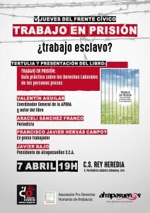 cartel presentación guía laboral prisión Rey Heredia