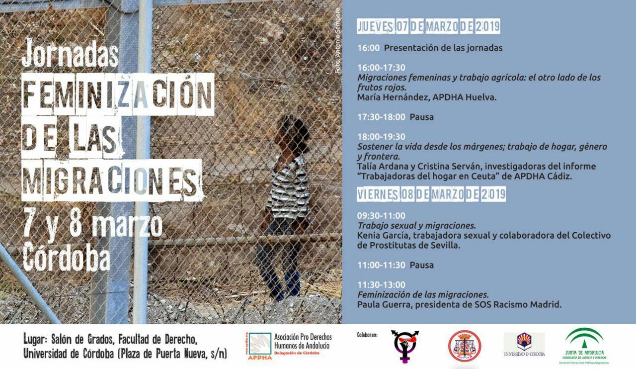 jornadas feminización de las migraciones