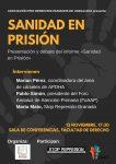 Cartel Sanidad en Prisión