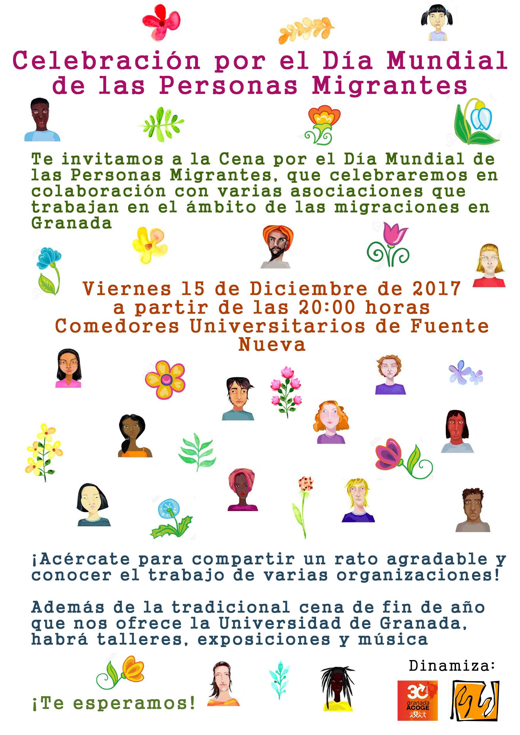Cena por el Día Mundial de las Personas Migrantes - Asociación Pro ...