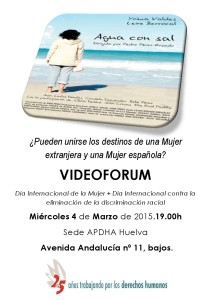 Videoforum4demarzo.Apdha.Carteljpg
