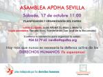 20151017 Asamblea APDHA Sevilla