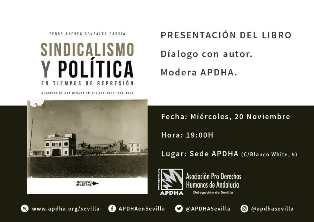 20191120 sindicalismoypolitica