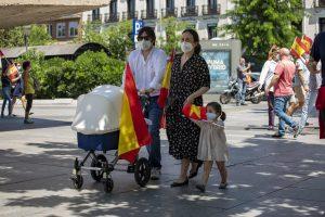 Manifestación Vox 23 de mayo - Foto David F Sabadell