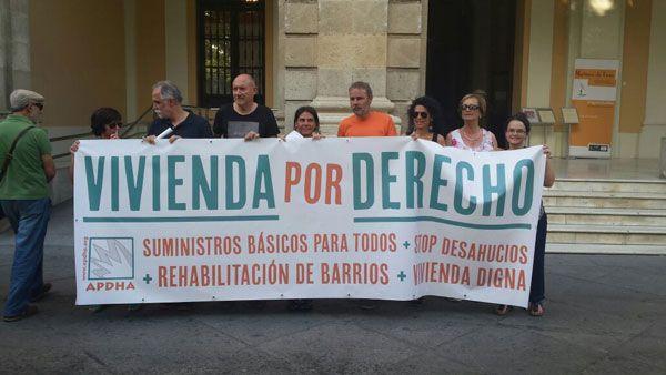 APDHA pide que se declare el Estado de Emergencia Habitacional en Andalucía