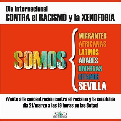21 De Marzo Día Contra El Racismo Apdha Asociación Pro Derechos Humanos De Andalucía