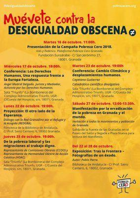 """""""Cambio climático y desplazamientos humanos"""" (Cayetano Gutiérrez Pérez, Divulgador científico) @ Sala Triunfo (La Bombonera) del Complejo Administrativo Triunfo, de la Universidad de Granada"""