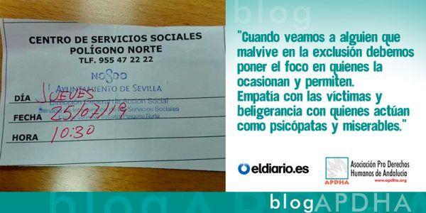 Pobreza, renta mínima y emergencia social: ¿nos gobiernan políticos sin escrúpulos?