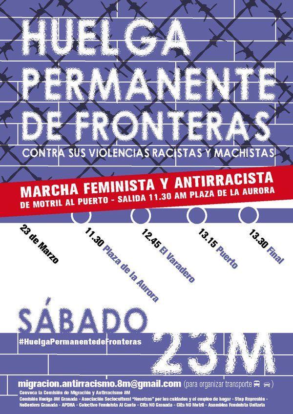 Motril (Granada): Huelga permanente de fronteras