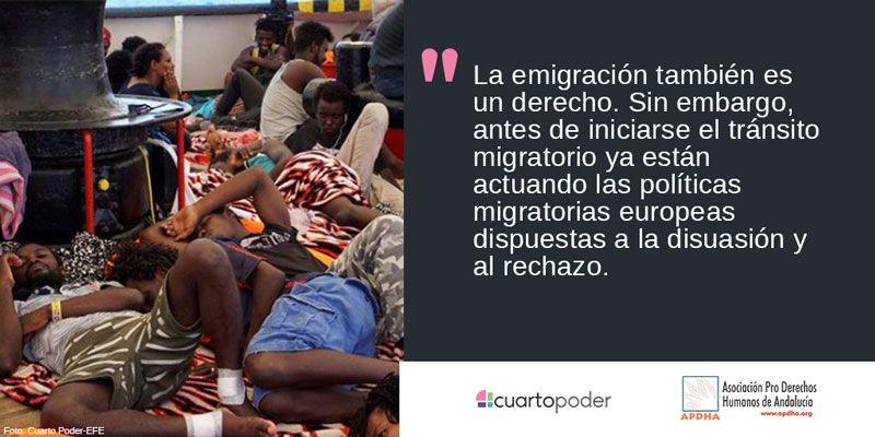 Rechazo a muerte de personas migrantes
