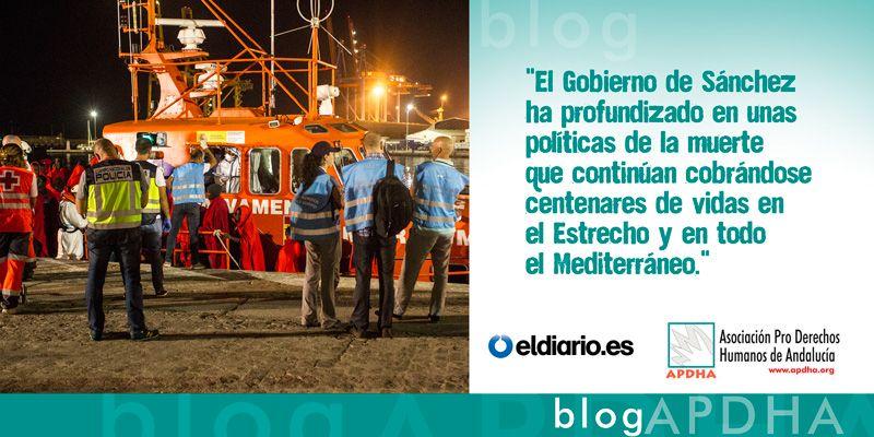 Las tanatopolíticas del Gobierno Sánchez