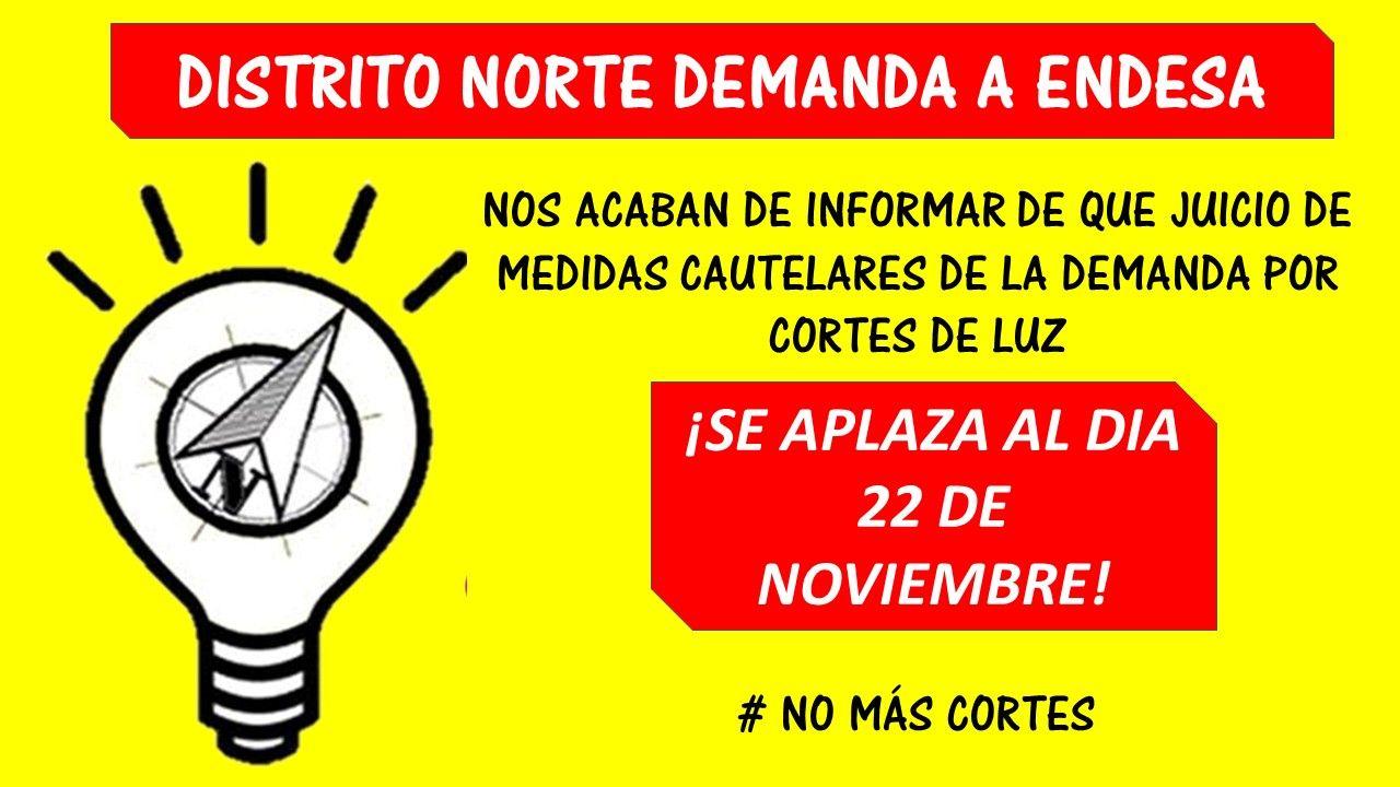Granada: Juicio a Endesa por cortes de luz en zona Norte [cambio fecha]