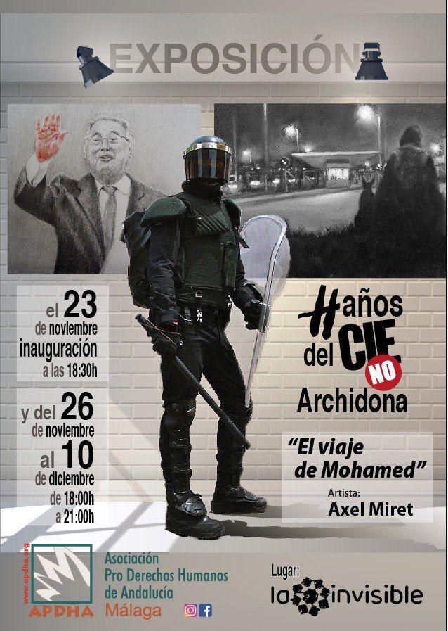Málaga: Exposición artística 'El viaje de Mohamed'