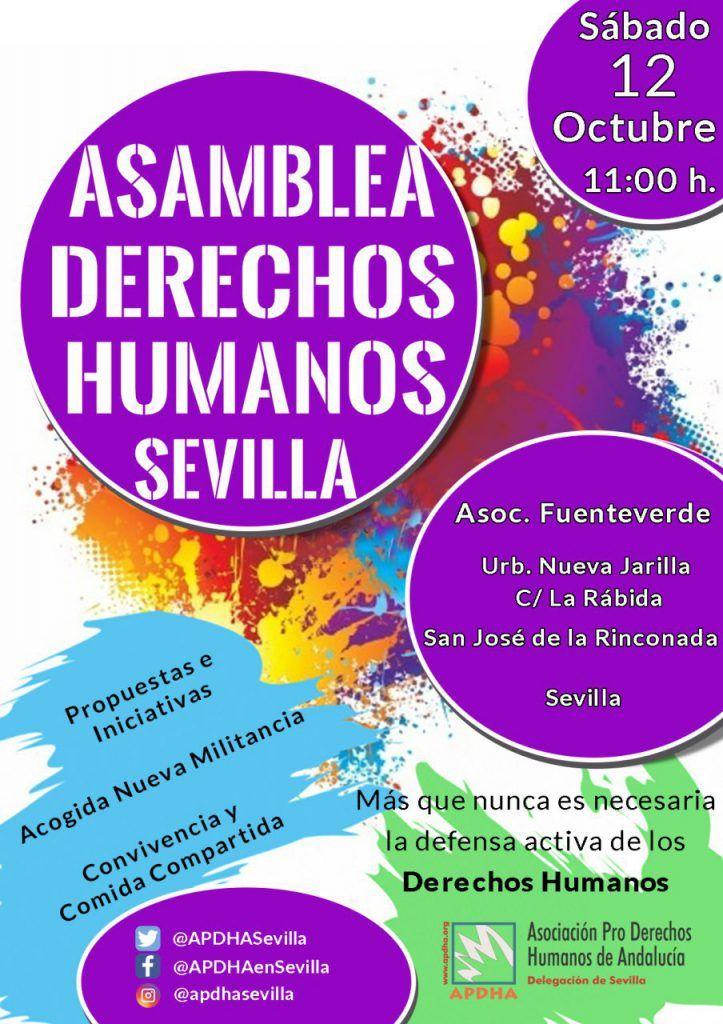Sevilla: Asamblea Derechos Humanos de APDHA Sevilla