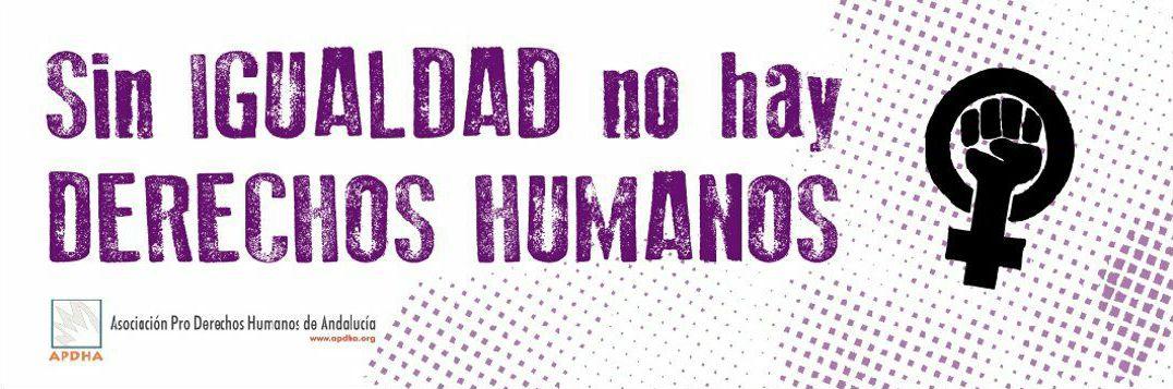 APDHA se une a la convocatoria de huelga feminista el #8M