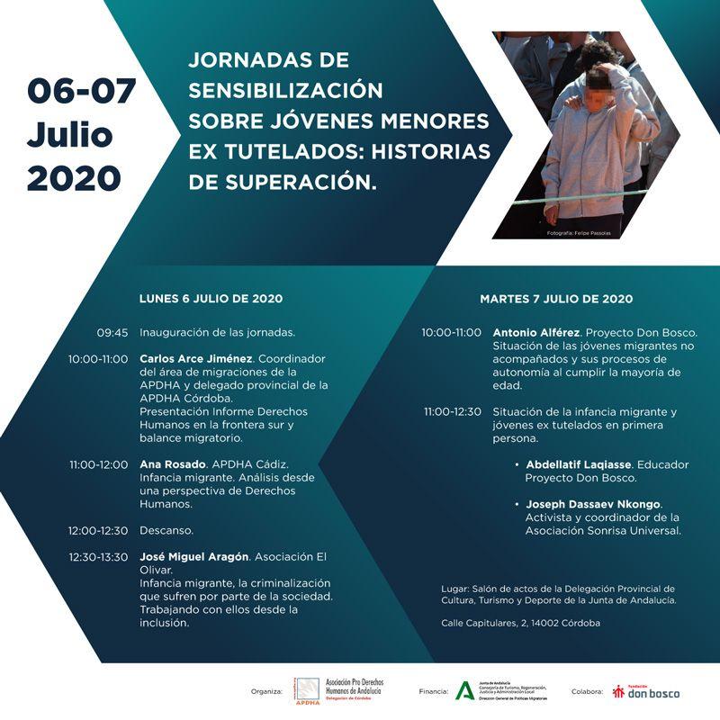 Córdoba: Jornadas sobre jóvenes migrantes extutelados/as