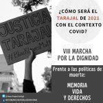 Marcha Tarajal Ceuta: memoria, vida y derechos humanos