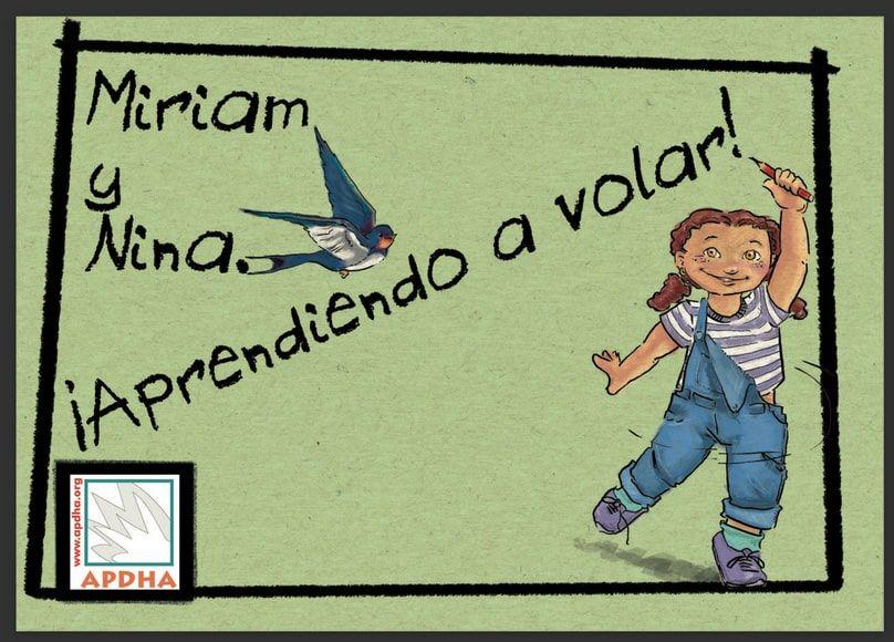 Cuento infantil Miriam y Nina, aprendiendo a volar
